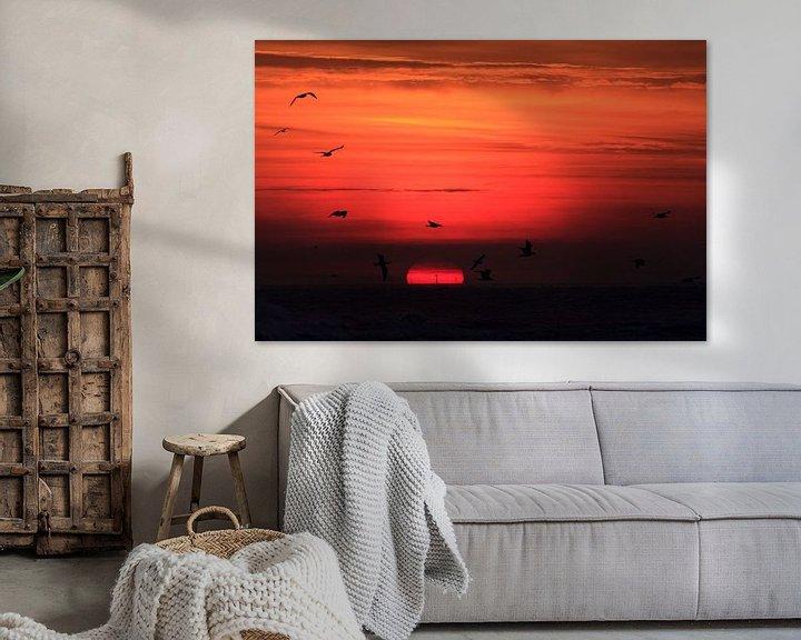 Impression: Lever du soleil, Boschplaat Terschelling sur Foto's van ChrisTettero.nl