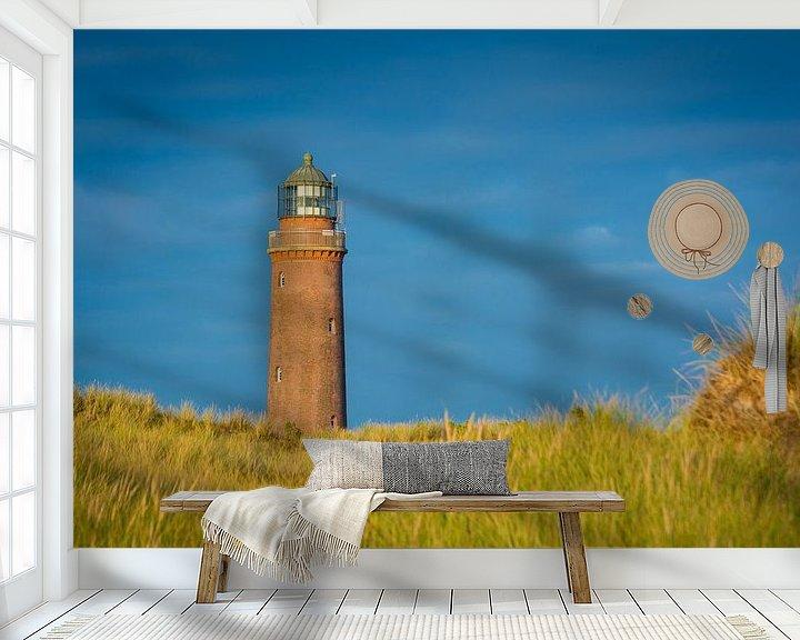 Beispiel fototapete: Leuchtturm auf Darß von Martin Wasilewski