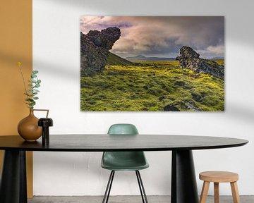 Paysage volcanique le plus important (Hveragerði ; Islande)