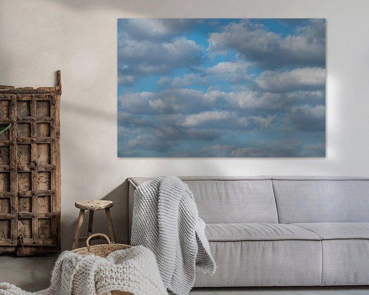 Sfeerimpressie: Wattige wolken van P Leydekkers - van Impelen