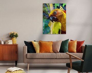 Terror-Papagei von The Art Kroep