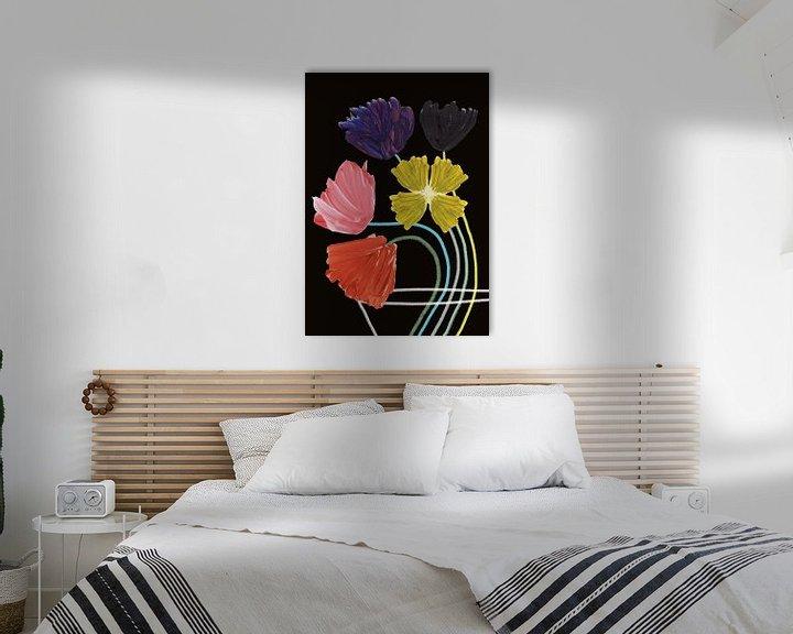 Sfeerimpressie: Bloemen in vaas van Suzanne Allewelt