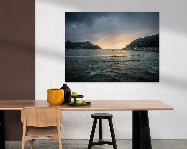 Beispiel: Am Strand von Irun von Martijn Tilroe