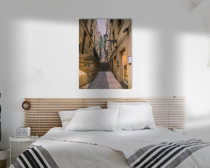 Beispiel: Straße in Irun, Spanien von Martijn Tilroe