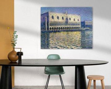Claude Monet. Der Dogenpalast in Venedig