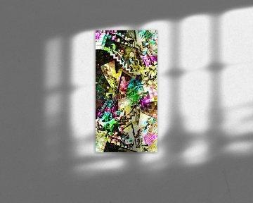Cage d'escalier Escher sur Giovani Zanolino