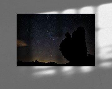 Le parc national du Teide la nuit sur Angelika Stern