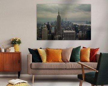Skyline von New York City von Nynke Altenburg