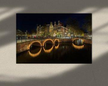 Amsterdam am Abend - Keizersgracht von Tux Photography