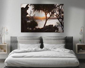 Sonnenuntergang am Strand von Ennio Brehm