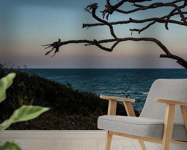 Beispiel fototapete: Sonnenuntergang am Meer von Ennio Brehm