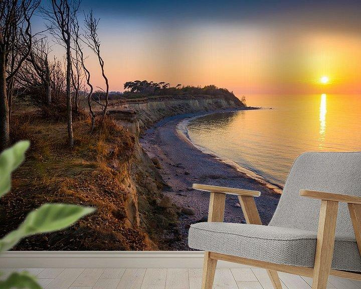 Beispiel fototapete: Abend an der Ostsee von Martin Wasilewski