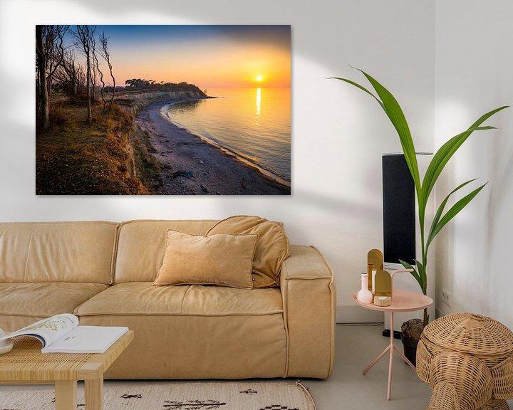 Beispiel: Abend an der Ostsee von Martin Wasilewski