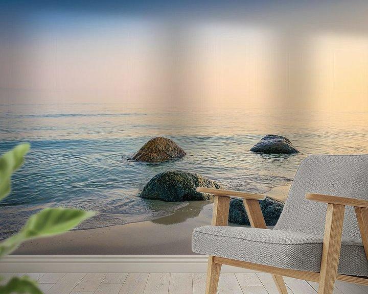Beispiel fototapete: Sonnenaufgang an der Ostsee von Martin Wasilewski