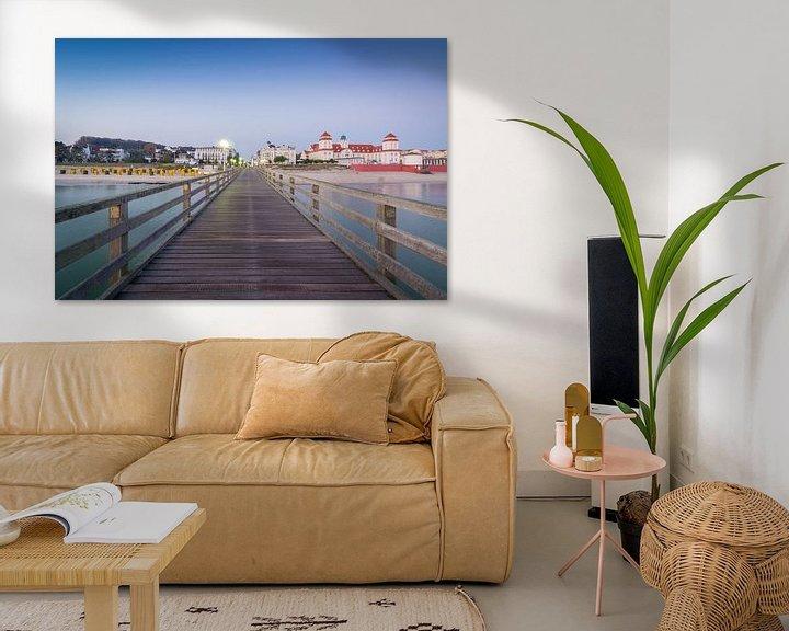 Beispiel: Seebrücke in Binz von Martin Wasilewski