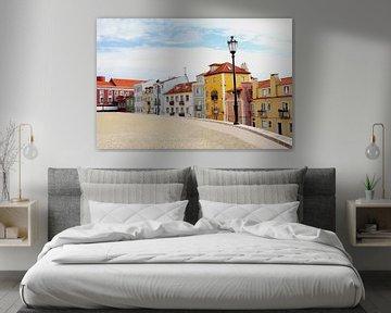 Alfama, Lissabon von Inge Hogenbijl