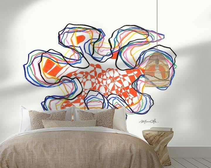 Sfeerimpressie behang: Lekker bezig 29 40x30cm van Marc Otte