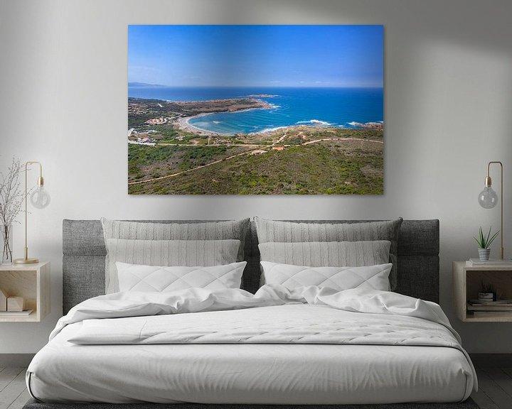 Sfeerimpressie: Kust, Sardinië van Bernardine de Laat