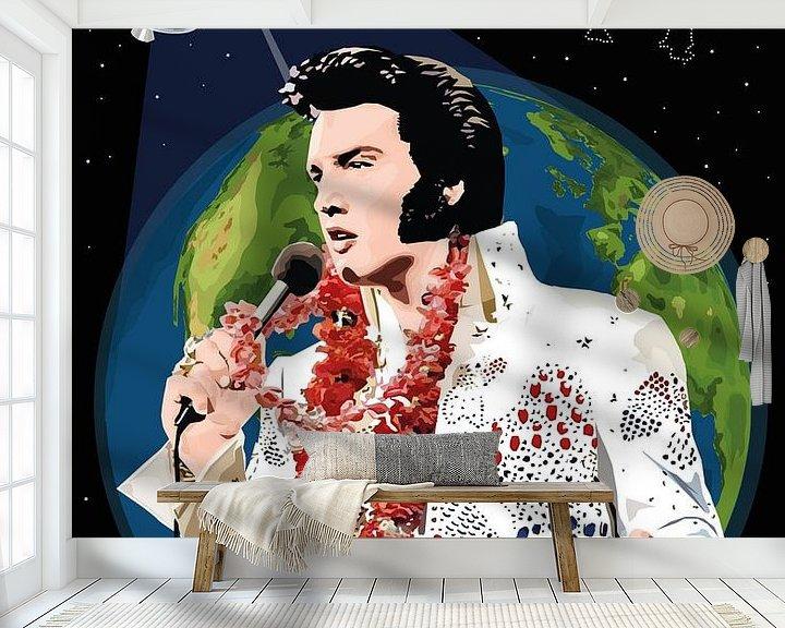 Beispiel fototapete: Elvis Presley: Aloha aus Hawaii von Jarod Art