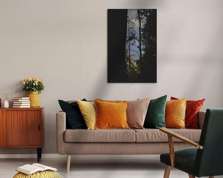Beispiel: Blick durch die Bäume von Ennio Brehm