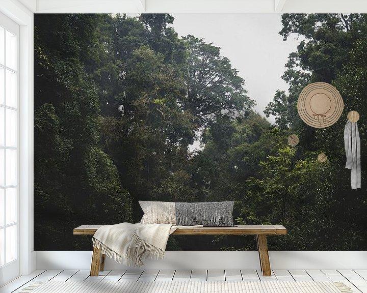 Beispiel fototapete: Regenwald von Ennio Brehm