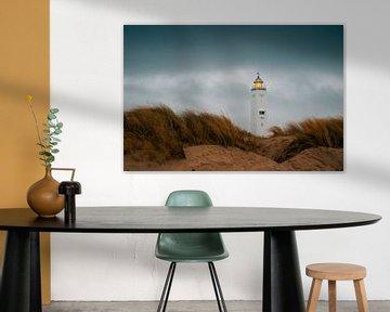 Leuchtturm von Noordwijk von Yana Spiridonova