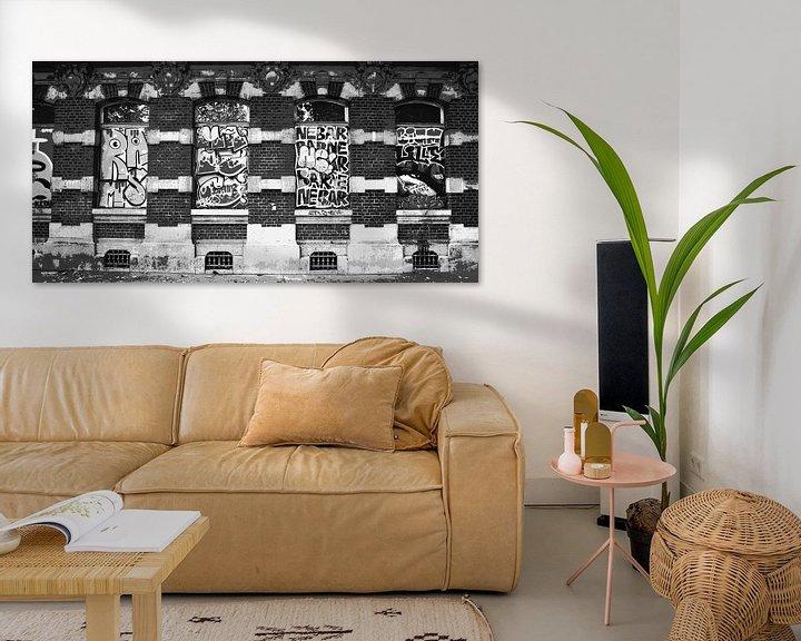 Beispiel: Schreie an der Wand, Lille von Wouter Springer