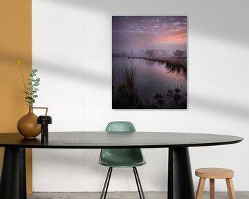 kleurrijke zonsopkomst bij de Hatertse Vennen van Michel Seelen