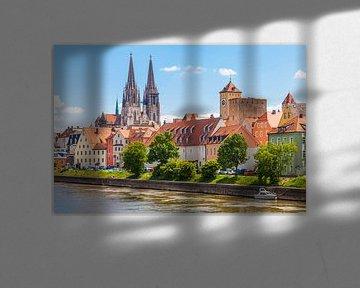 Regensburg im Sommer von Jan Schuler