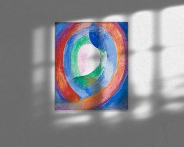 Formen circulaires; lune no. 1, Robert Delaunay