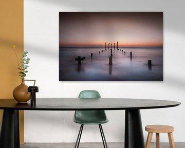 Aruba sunset van Harold van den Hurk