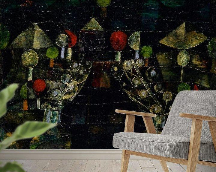 Beispiel fototapete: Frauenpavillon, Paul Klee