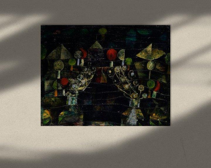 Beispiel: Frauenpavillon, Paul Klee