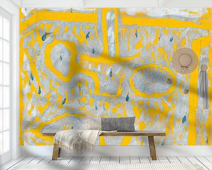 Beispiel fototapete: Kerzenleuchter, Paul Klee