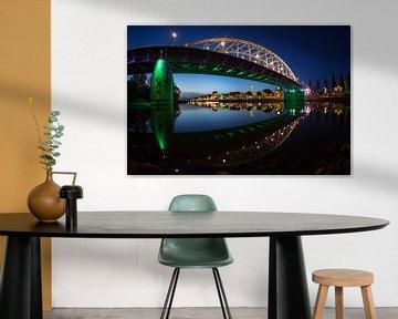 Le pont John Frost sur Jeroen  Ruël