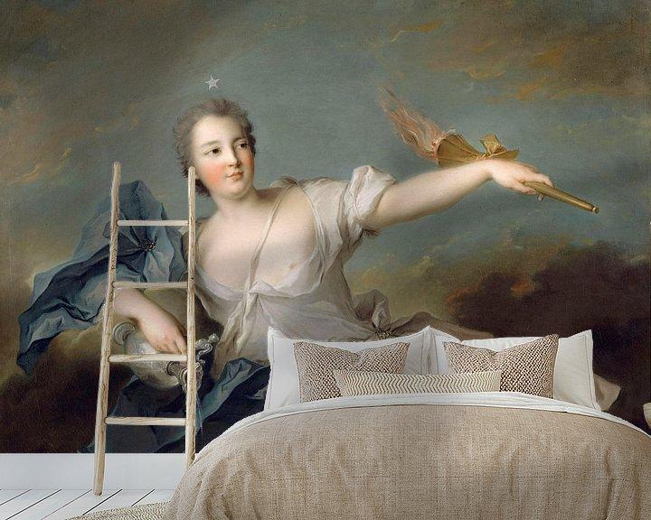 Beispiel fototapete: Marie-Anne de Nesle, Marquise von La Tournelle, Jean-Marc Nattier