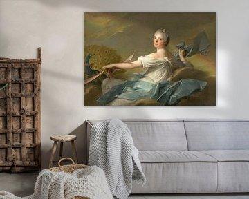 Madame Marie-Adélaïde de France - Die Luft,, Jean-Marc Nattier