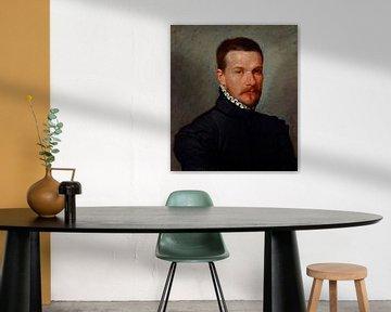 Porträt eines jungen Mannes, Giovanni Battista Moroni