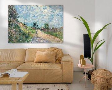 Bergaufwärts, Alfred Sisley