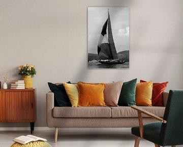 Segelboot Golf von Saint-Tropez von Tom Vandenhende