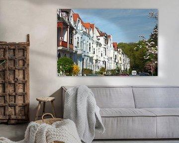 Oude huizen in Bremen-Schwachhausen, Bremen, Duitsland, Europa I Oude huizen in Bremen-Schwachhausen van Torsten Krüger