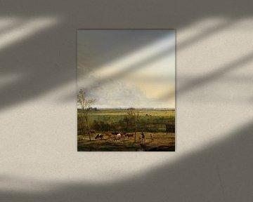Fernsicht auf die Wiesen von 's-Graveland, Pieter Gerardus van Os