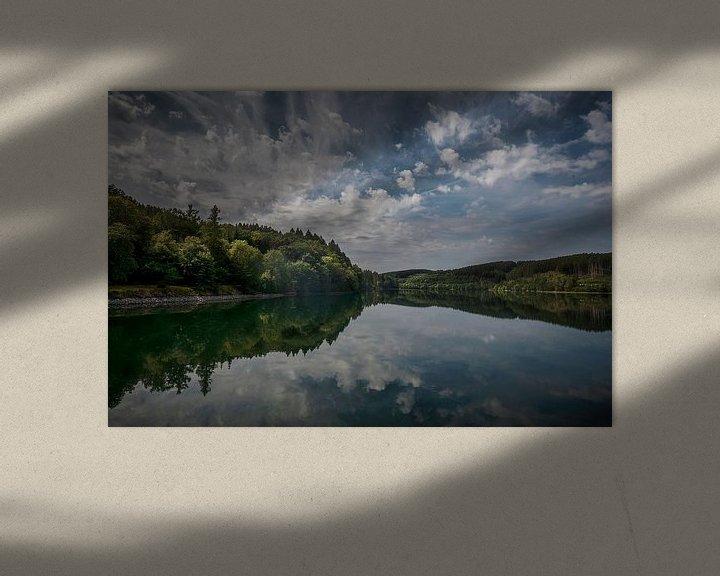 Impression: Les nuages au-dessus du Biggesee sur Guus Quaedvlieg