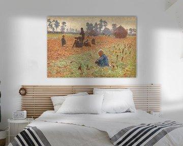 Getreide sammeln, Emile Claus