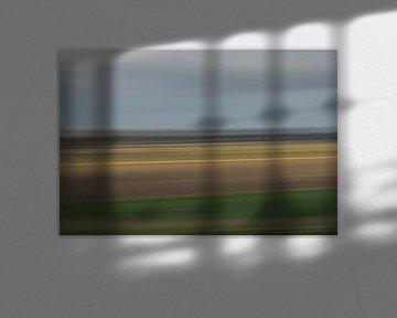 Impressionistisch polderlandschap