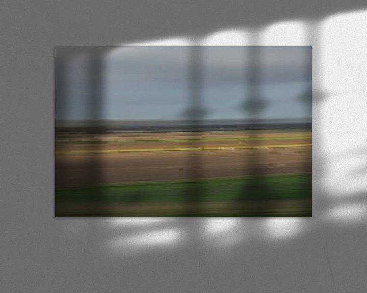 Sfeerimpressie: Impressionistisch polderlandschap van Leo Luijten