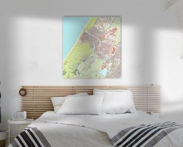 Kaart vanKatwijk