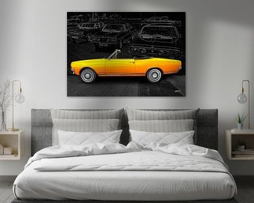 Opel Commodore A Cabriolet van aRi F. Huber