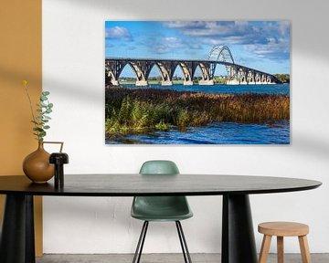 Een brug tussen Zeeland en Moen in Denemarken van Rico Ködder