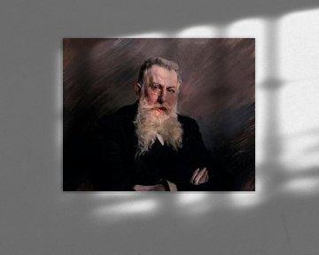 Porträt von Antonio Starrabba, Giovanni Boldini